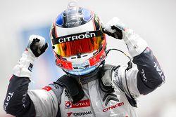 Race winner Jose Maria Lopez, Citroën C-Elysée WTCC, Citroën World Touring Car Team WTCC