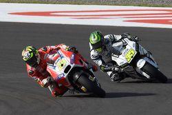Andrea Iannone, Ducati Team & Cal Crutchlow, Team LCR Honda