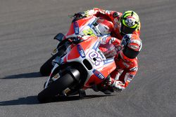 Andrea Dovizoso & Andrea Iannone, Ducati Team