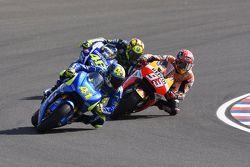 Aleix Espargaro, Team Suzuki MotoGP, Marc Marquez, Repsol Honda Team & Valentino Rossi, Yamaha Factory Racing