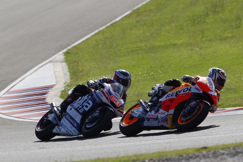 Hiroshi Aoyama, Repsol Honda Team and Hector Barbera, Avintia Racing Ducati