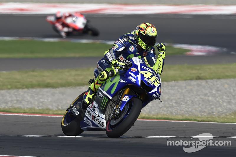 Победитель - Валентино Росси, Yamaha Factory Racing