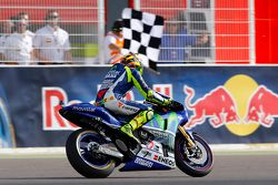 Winner Valentino Rossi, Yamaha Factory Racing