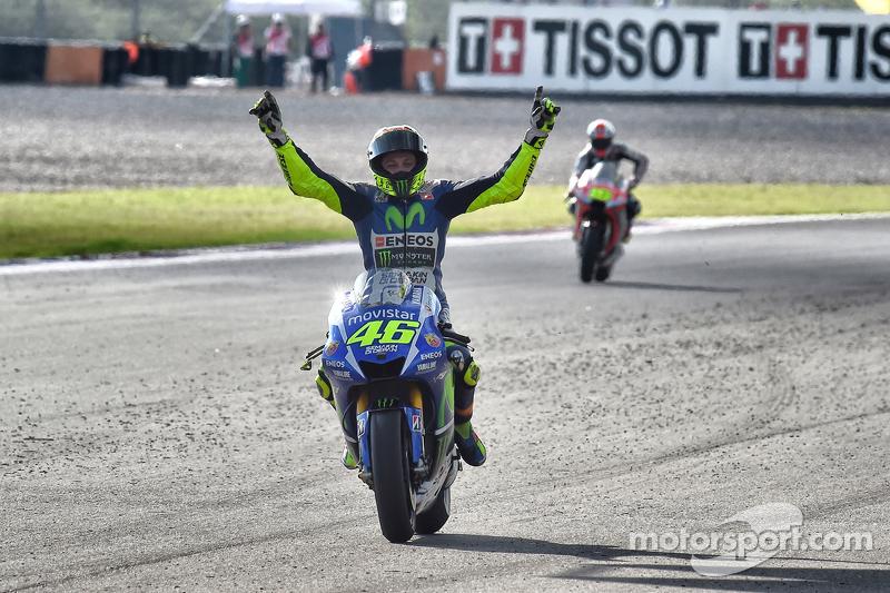 La de 2015 en Termas es la última victoria de Rossi fuera de Europa en MotoGP