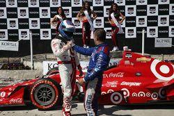 Scott Dixon, Chip Ganassi Racing Chevrolet et Tony Kanaan, Chip Ganassi Racing Chevrolet