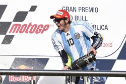 Podium: Valentino Rossi, Yamaha Factory Racing