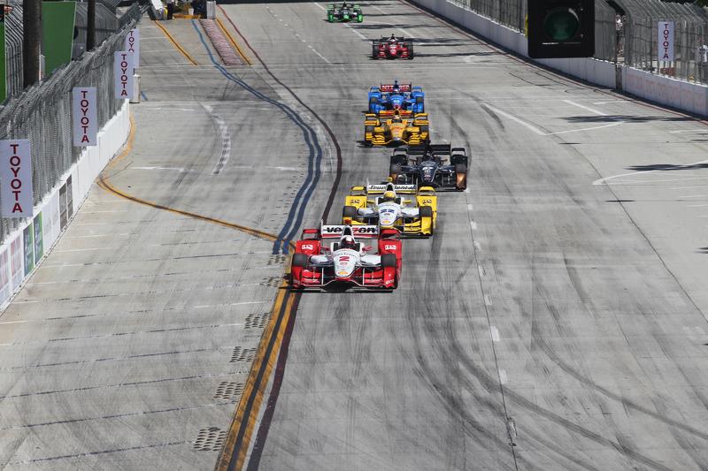 Juan Pablo Montoya and Simon Pagenaud, Team Penske Chevrolet