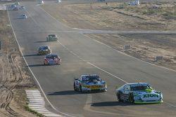 Agustin Canapino, Jet Racing, Chevrolet; Luis Jose di Palma, Indecar Racing; Torino Christian Ledesm
