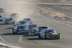 Nicolas Bonelli, Bonelli Competicion, Ford; Mauro Giallombardo, Maquin Parts Racing, Ford; Jose Manu