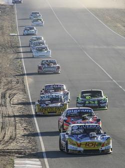 Luis Jose Di Palma, Indecar Racing Torino Christian Ledesma, Jet Racing Chevrolet Nicolas Bonelli, B