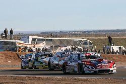 Matias Rossi, Donto Racing, Chevrolet; Juan Marcos Angelini, UR Racing, Dodge; Omar Martinez, Martin