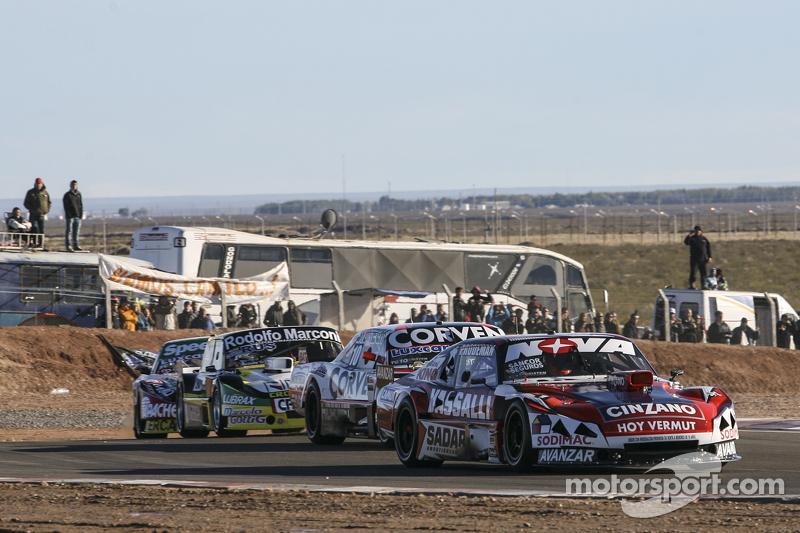 Матіас Россі, Donto Racing Chevrolet Хуан Маркос Анджеліни, UR Racing Dodge Омар Мартінез, Martinez