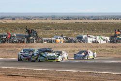 Omar Martinez, Martinez福特车队;Facundo Ardusso, Trotta道奇车队;Sergio Alaux, Coiro Dole雪佛兰车队; Omar Martinez