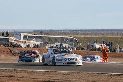 Leonel Sotro, Alifraco福特车队;Carlos Okulovich, Maquin Parts Racing Torino;Matias Rodriguez, UR道奇车队
