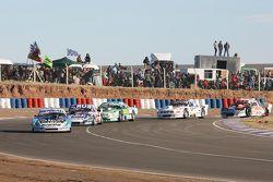 Martin Ponte, RUS Nero53 Racing, Dodge; Gabriel Ponce De Leon, Ponce De Leon Competicion, Ford; Emil