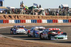 Carlos Okulovich, Maquin Parts Racing, Torino; Matias Rodriguez, UR Racing, Dodge; Jose Savino, Savi
