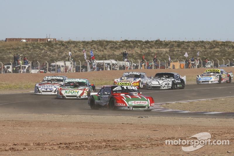 Jose Manuel Urcera, JP Racing, Torino; Norberto Fontana, Laboritto Jrs, Torino, und Camilo Echevarria, Coiro Dole Racing, Torino