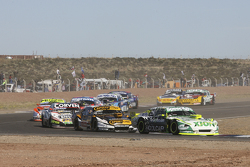 Agustin Canapino, Jet Racing Chevrolet Leonel Pernia, Las Toscas Racing Chevrolet Juan Marcos Angeli
