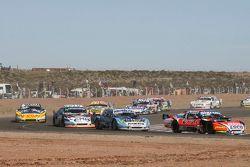 Guillermo Ortelli, JP Racing, Chevrolet; Martin Ponte, RUS Nero53 Racing, Dodge; Christian Ledesma,
