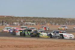 Leonel Sotro, Alifraco福特车队; Omar Martinez, Martinez福特车队;Mauro Giallombardo, Maquin Parts福特车队;Juan Pa