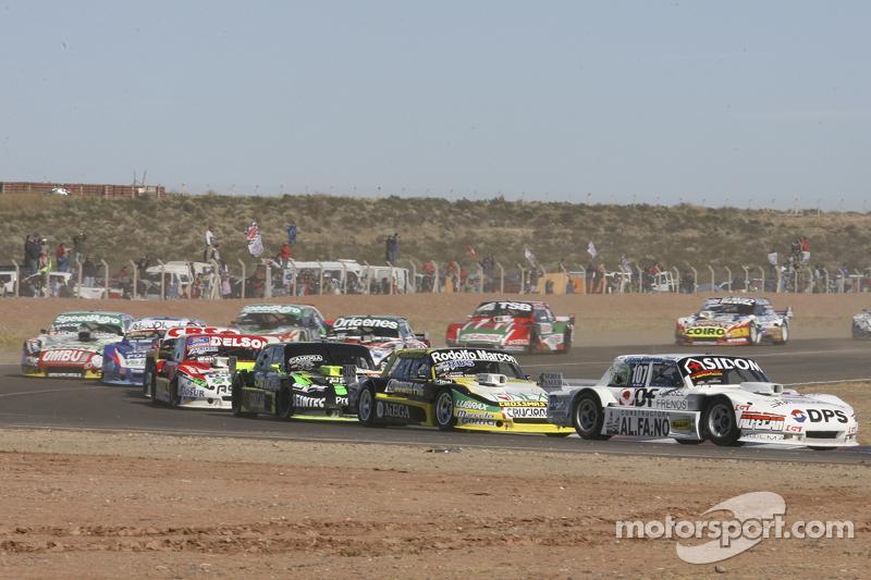 Leonel Sotro, Alifraco Sport, Ford; Omar Martinez, Martinez Competicion, Ford; Mauro Giallombardo, M