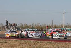 Juan Pablo Gianini, JPG Racing Ford Camilo Echevarria, Coiro Dole Racing Torino Lionel Ugalde, Ugald