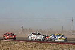 Mauricio Lambiris, Coiro Dole Racing, Torino; Leonel Sotro, Alifraco Sport, Ford, und Christian Dose