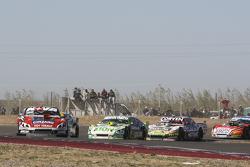 Matias Rossi, Donto Racing Chevrolet Agustin Canapino, Jet Racing Chevrolet Juan Marcos Angelini, UR Racing Dodge