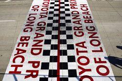 Long Beach GP start finish line