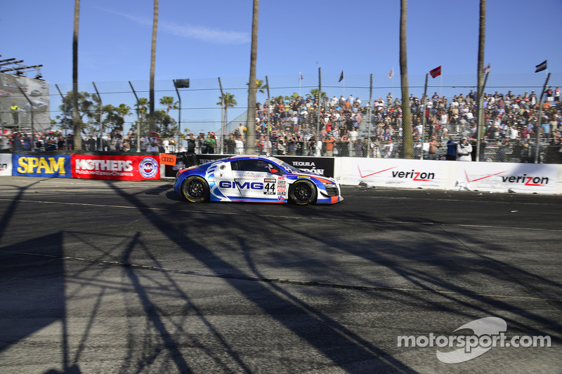 #44 Global Motorsports Group Audi R8 LMS Ultra: Brent Holden