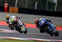 Xavier Siméon, Federal Oil Gresini Moto2 et Mika Kallio, Italtrans Racing