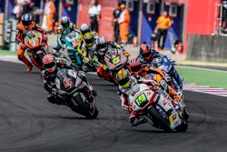Xavier Siméon, Federal Oil Gresini Moto2 et Johann Zarco, Ajo Motorsport