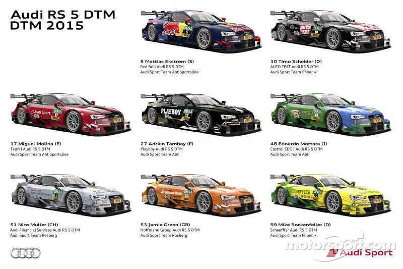 Tampilan Tim Audi RS 5 DTM