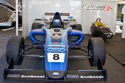 Darius Karbaley's Falcon Motorsport car