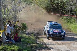 Jari-Matti Latvala and Miikka Anttila, Volkswagen Motorsport Polo WRC