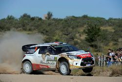 Khalid Al-Qassimi et Chris Patterson, Citroën DS3 WRC, Citroën World Rally Team