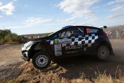 Diego Dominguez und Edgardo Galindo, Ford Fiesta R5