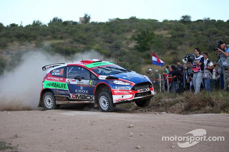 Nicolas Fuchs And Fernando Mussano, Ford Fiesta R5, Drive Dmack