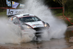 Jari Ketomaa y Kaj Lindstrom Ford Fiesta R5, Drive Dmack
