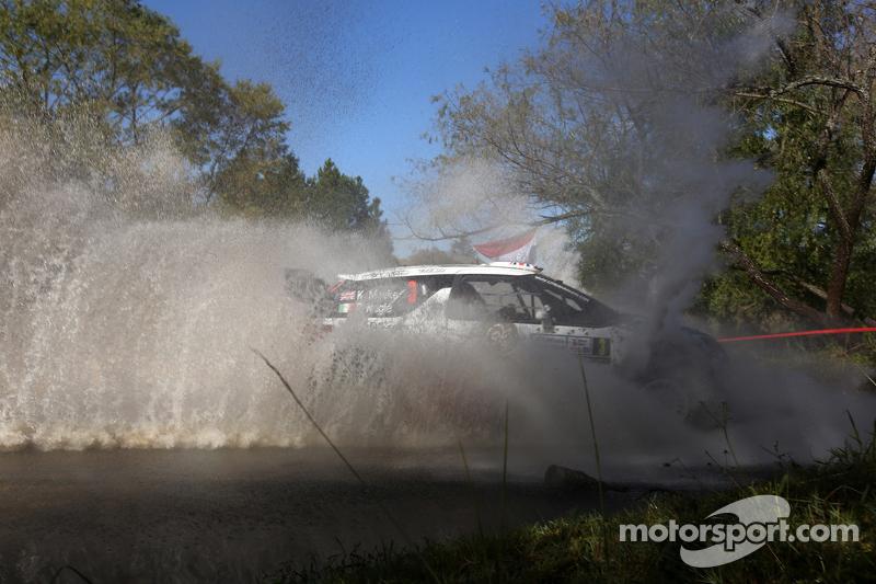 Kris Meekeand Paul Nagle, Citroën Ds3 Wrc, Citroën World Rally Team