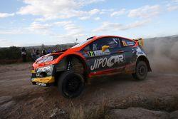 Martin Prokop et Jan Tomanek, Ford Fiesta RS WRC, Jipocar Czech National Team