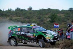 Yurii Protasov And Pavlo Cherepin, Ford Fiesta Rrc
