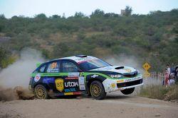 Simone Tempestini ve Matteo Chiarcossi, Subaru Impreza, Napoca Rally Academi