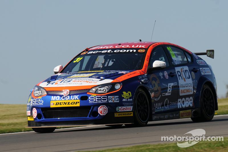 Jack Goff, MG Triple 8 Racing
