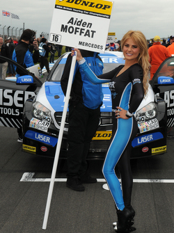 Laser Tools Racing Grid girl