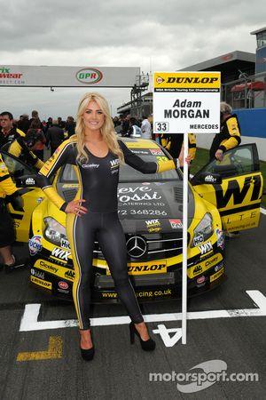 Wix Racing Grid girl