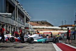 Jazeman Jaafar, Fortec Motorsports,在维修通道