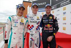 İkinci Jazeman Jaafar, Fortec Motorsports, Yarış galibi Oliver Rowland, Fortec Motorsports, üçüncü D