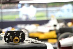 Team Penske steering wheel