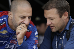 Tony Kanaan, Chip Ganassi Racing y Townsend Bell